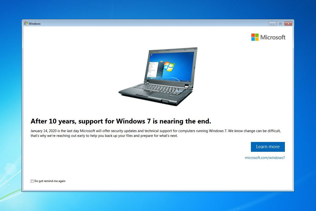 windows 7 expira